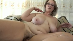 Nyx Night Curvy hairy milf