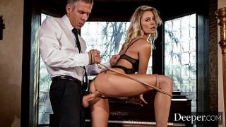 deeper addie gets tied up and fucked by stranger on vacation