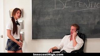 InnocentHigh – Sexy Teen (Jojo Kiss) Fucked In Detention