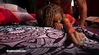 Squirting 1st Time Fucking on Camera Dom & sub King Noire Xerlina Devine